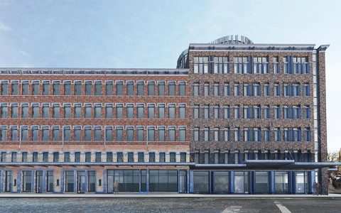 Drawing prepared for a refurbishment project on the old meat packing area of new york