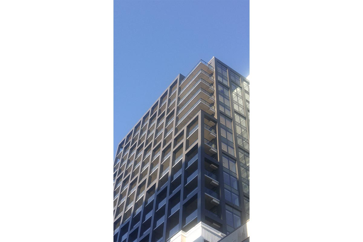 Facade Systems Completed on The Roy Building Canada