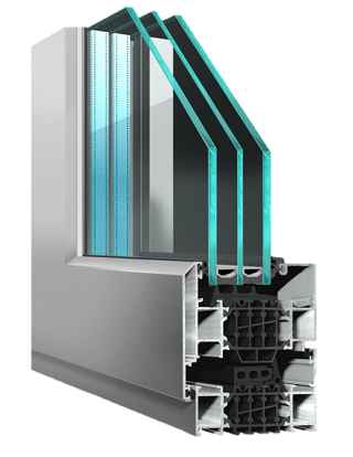 ST80 Window - thermally efficient window -APA Facade Systems