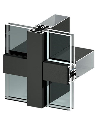 Storefronts - TB60 Curtain Wall - APA Facade System