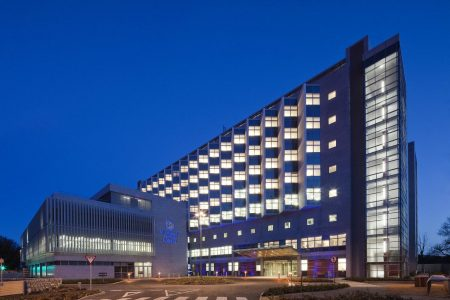 St. Vincent's private hospital - sustainable aluminum windows and curtain wall systems - st vincents hospital
