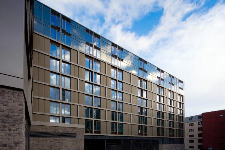 Side Elevation - Vita Student Accommodation - - APA Facade Systems