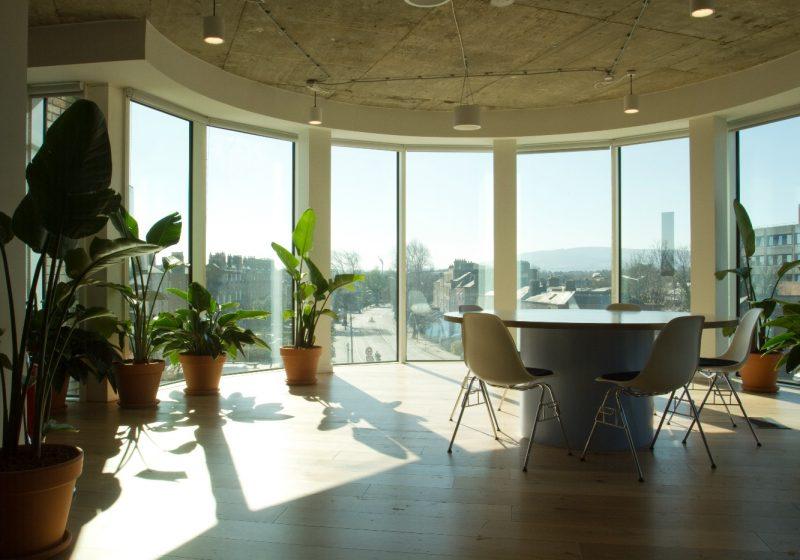 views from top floor - we eork - charlemont exchange