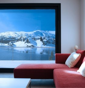 APA Facade Systems ST4-600 Lift and Slide Sitting Room