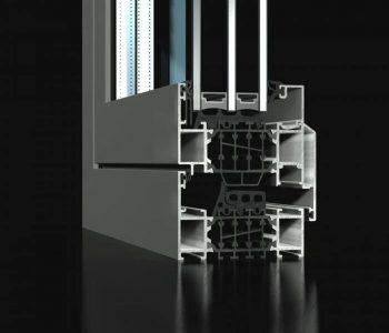 ST80-tilt and turn window