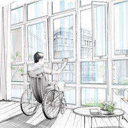 life enhancing window drawing