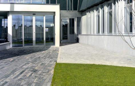clare county hall apa facade systems st70 door