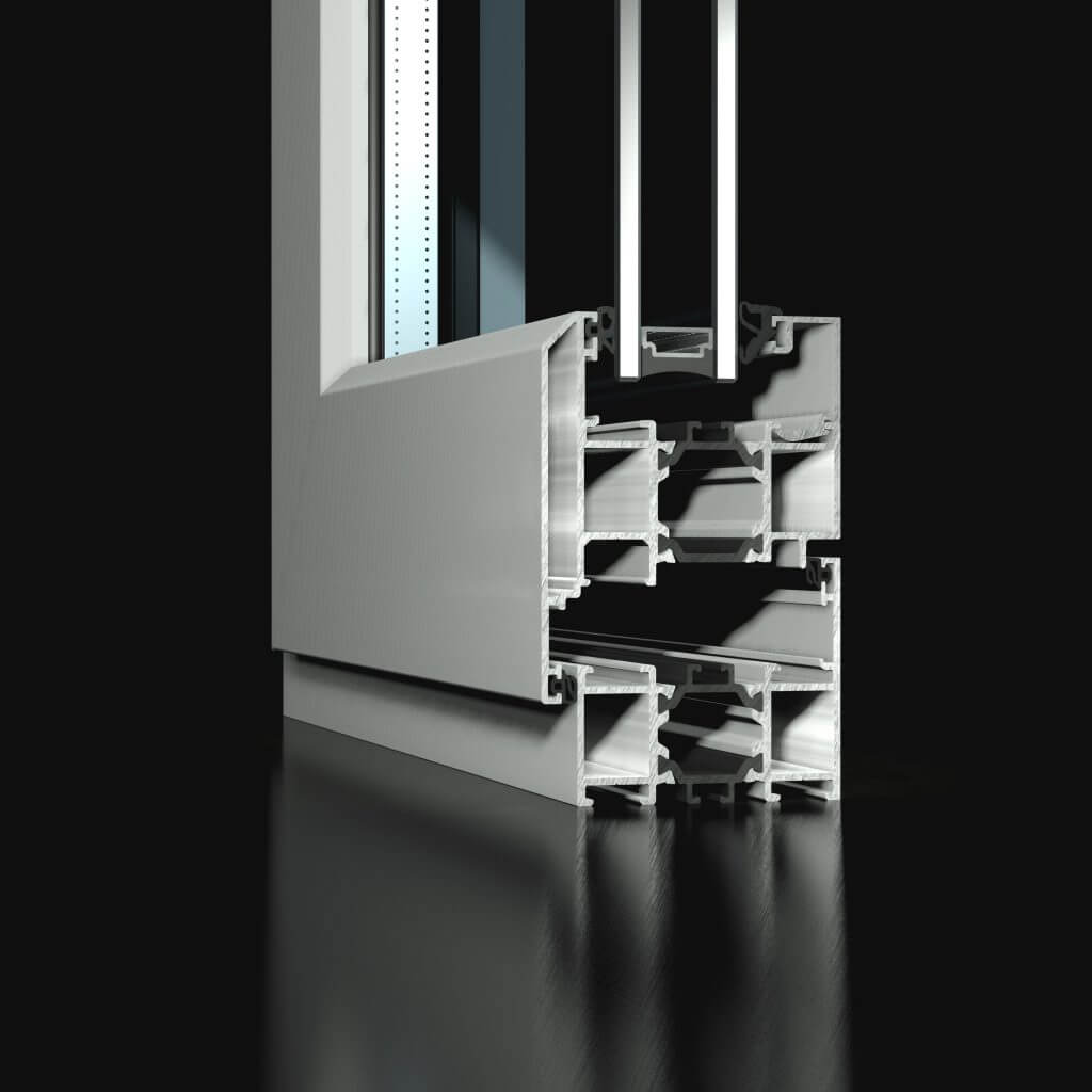 st60 casement window
