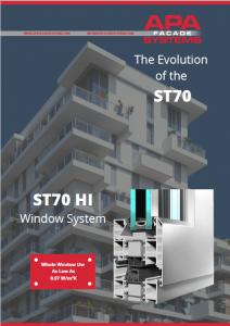 ST70 HI brochure - APA Facade Systems