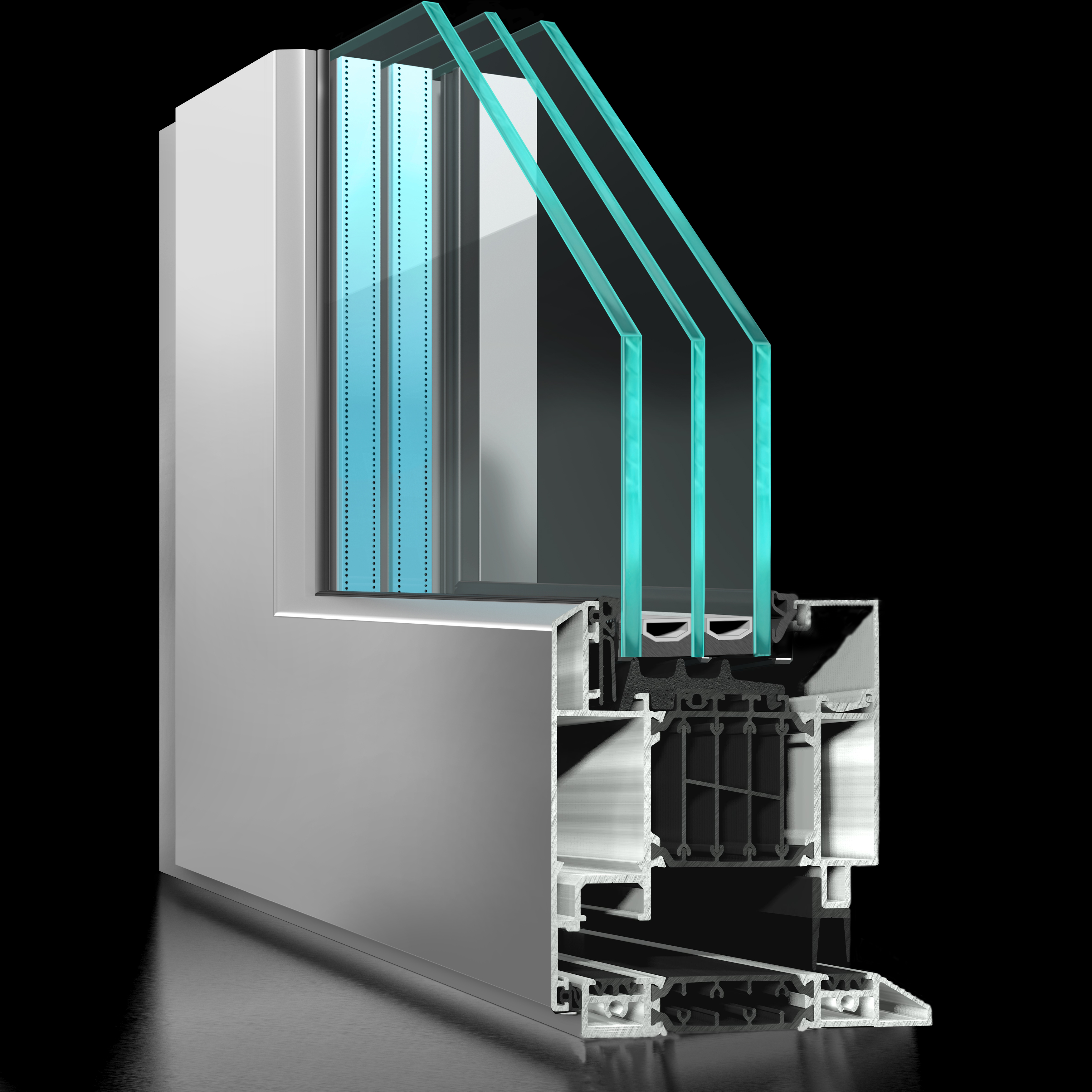 ST80 Rebate Door - APA Facade System