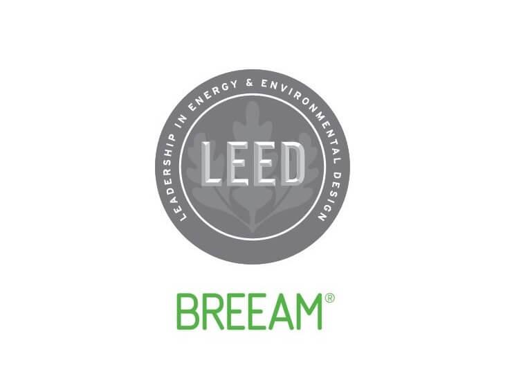 breem and leed logo