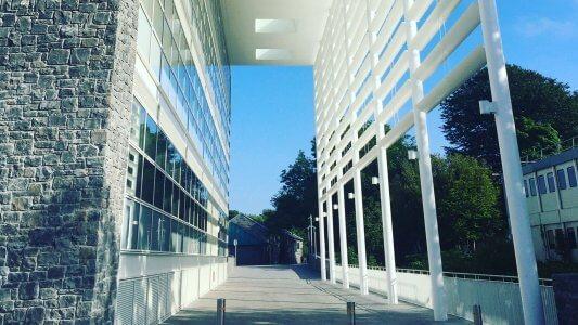 human biology building nuig- apa facade systems