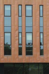 glucksman library apa facade systems