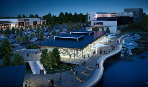 rushden lakes phase 2 night