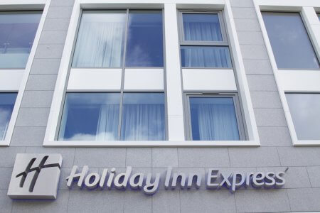 Holiday Inn Express O'Connell Street Entrance