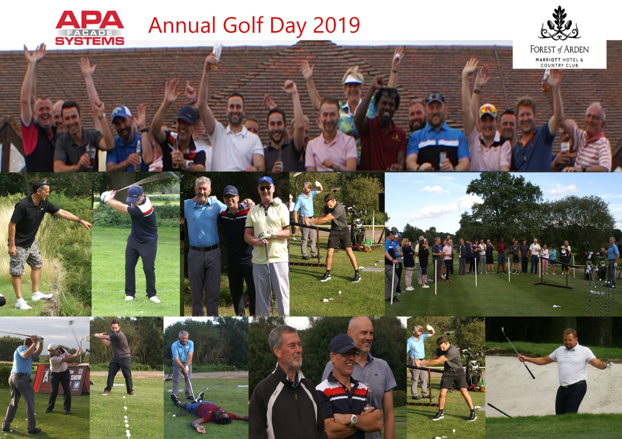 APA Facade Systems Annual UK Golf Outing