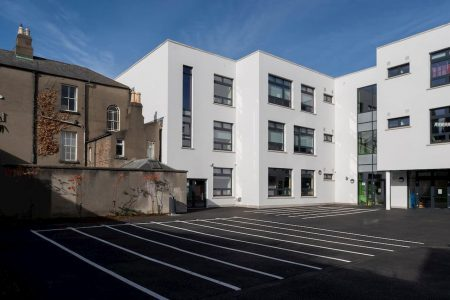 St Christophers School - Haddington Road - APA Facade Systems