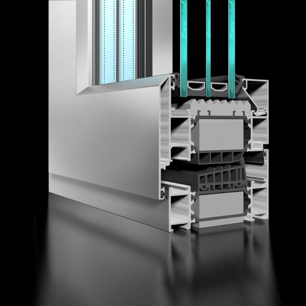 ST90 Casement Window - APA Facade Systems