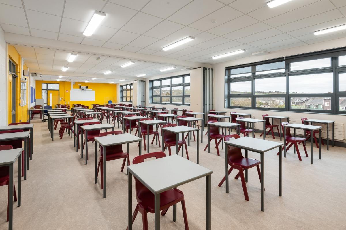 Natural Ventilation & Airflow - schools of the future - Clonakilty Community College