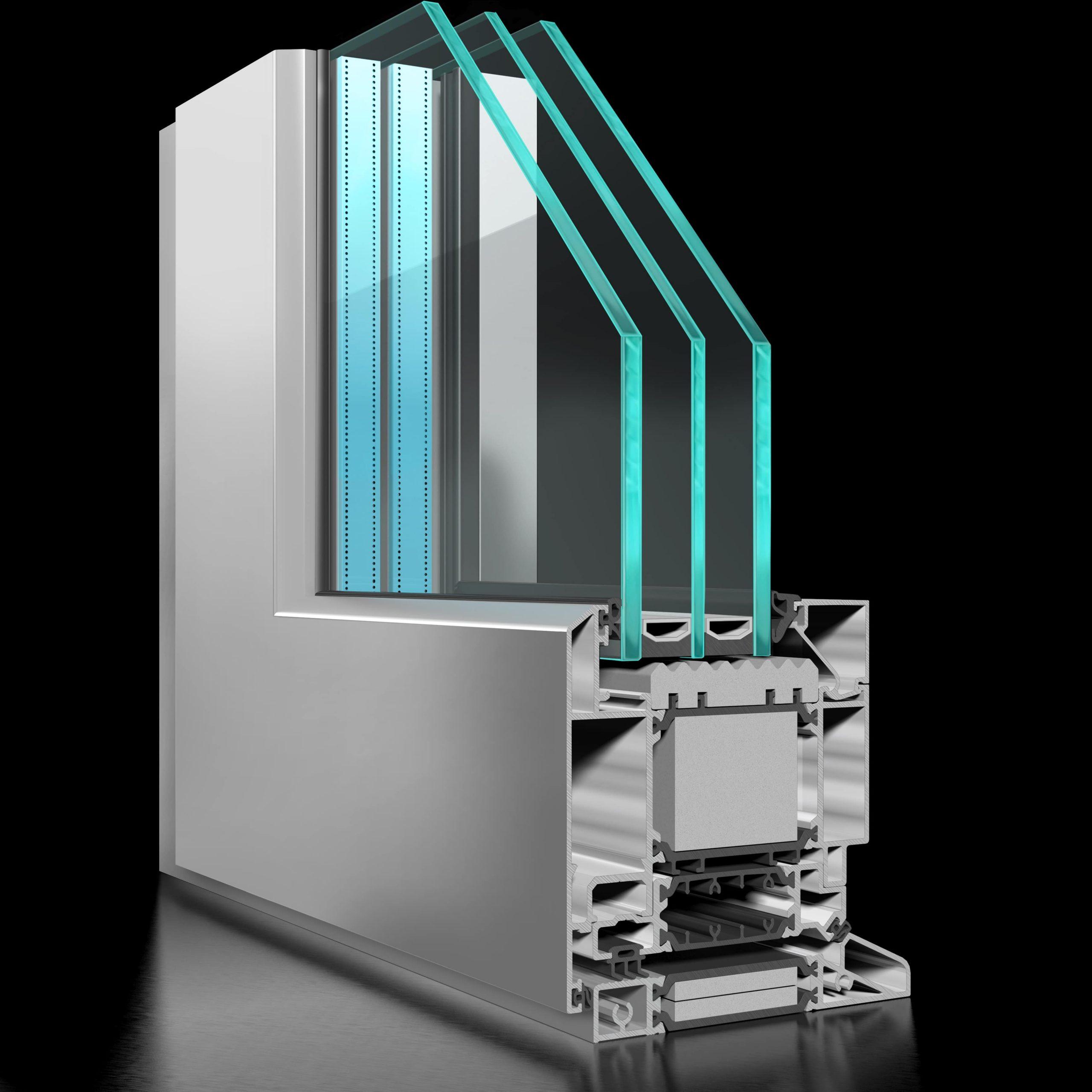 ST90 Rebate Door - APA Facade Systems