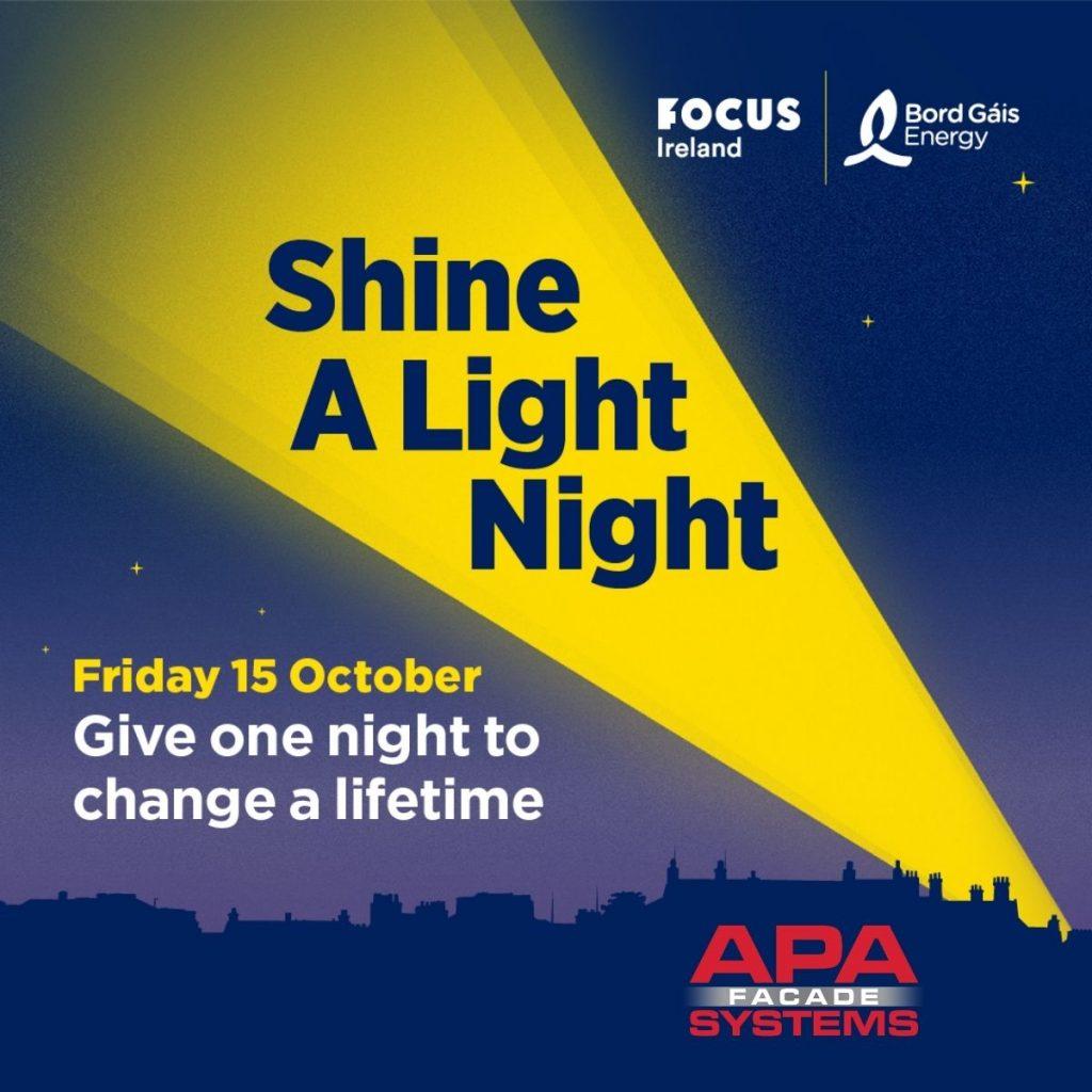 Shine A Light Night 2021 - APA Facade Systems